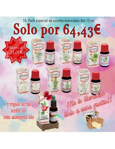 10. Pack especial de aceites esenciales bio 2
