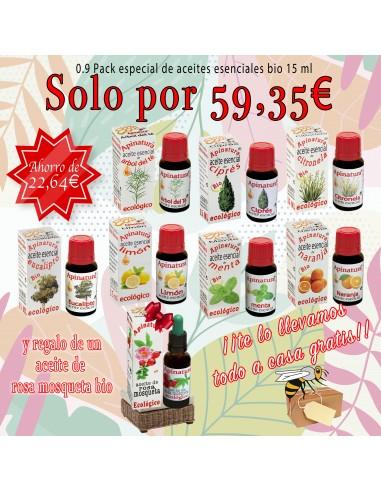0.9 Pack especial aceites esenciales bio