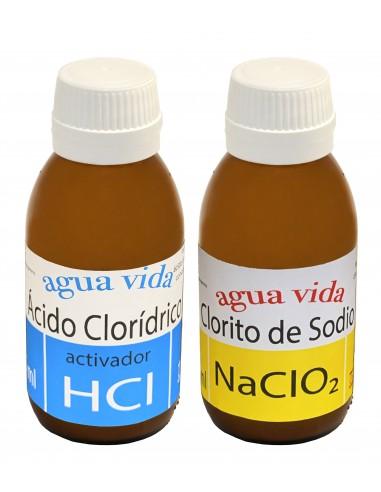 MMS clorito de sodio + Activador HCL